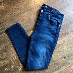 7 For All Mankind Mid-Rise Soft Skinny Jeans